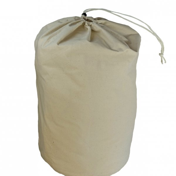 cotton 100% bag ecru without dyed